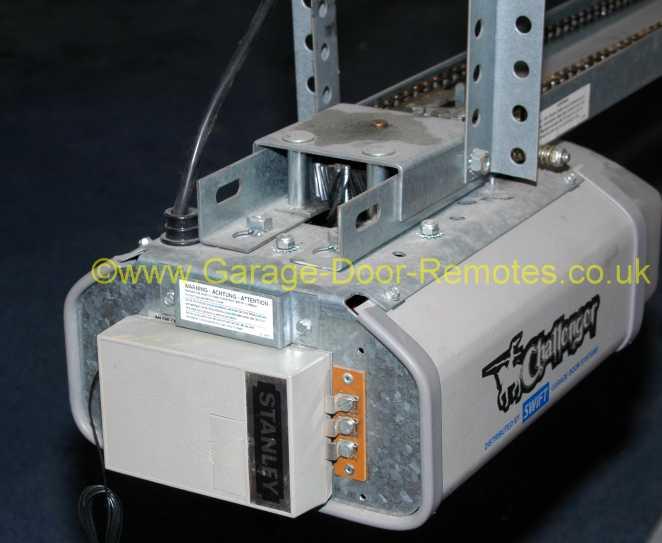 wiring diagram for stanley garage door opener wiring